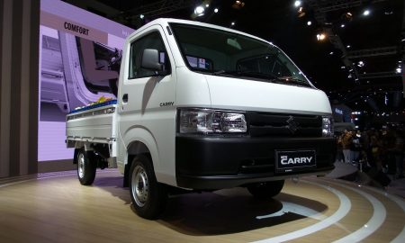 Suzuki New Carry Pick Up. (Warta Kota/Mochammad Dipa)
