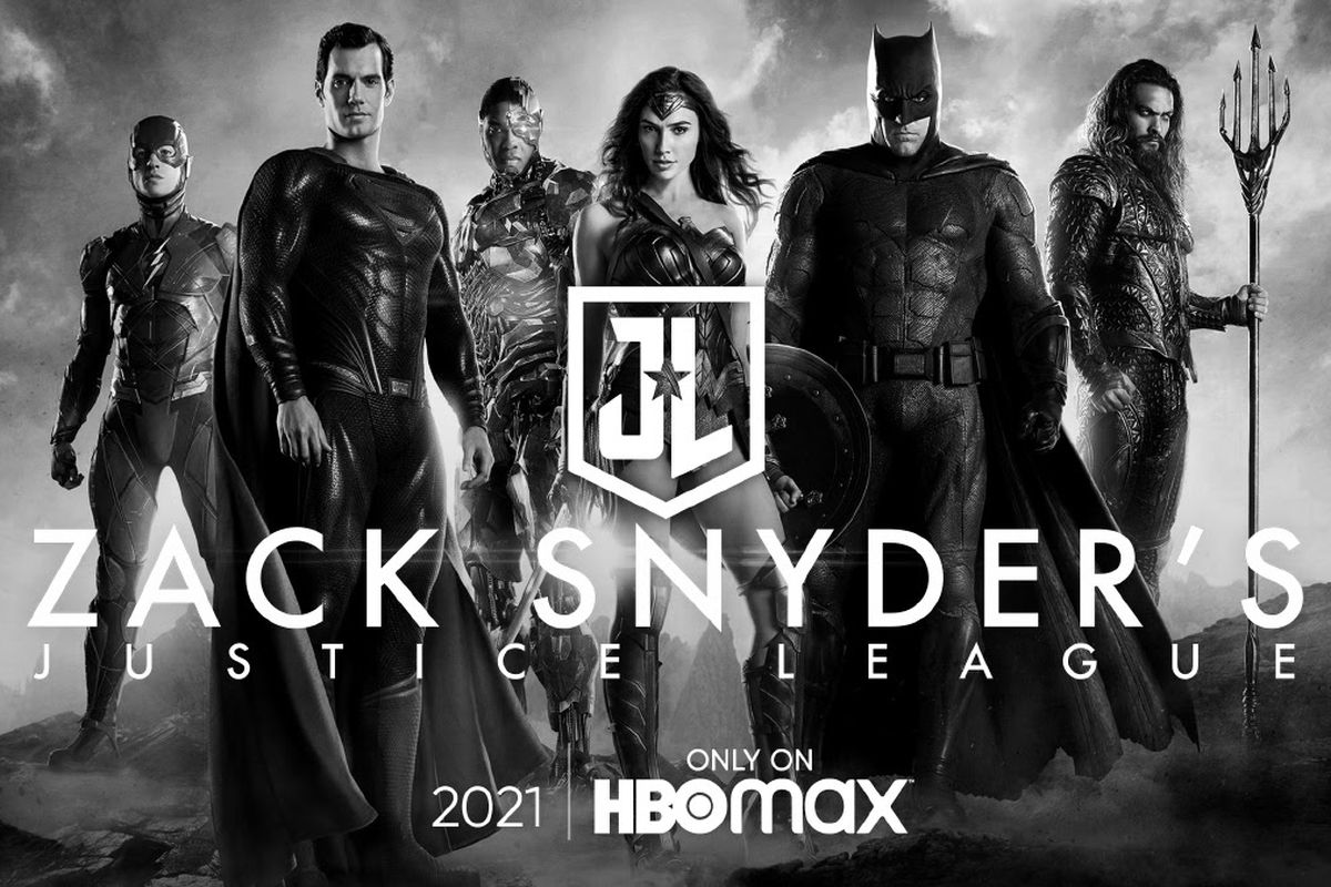 Poster Zack Snyder Justice League